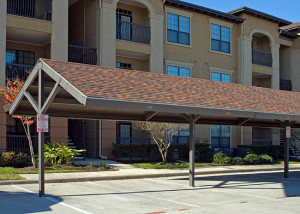 Car ports are one of many ways you can add value to a multi-family property.