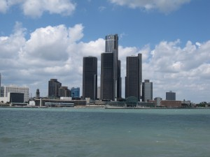 The Detroit skyline (Image: Bernt Rostad/Flickr)