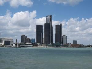The Detroit skyline (Image: Bernt Rostad/Flickr)