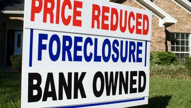 detroit homes for sale cheap - foreclosure sign