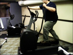 "It doesn't take a lot of equipment to provide a ""gym"" for your tenants.  (Image: ~Twon~/Flickr)"