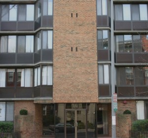 detroit apartment building outside view