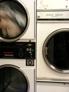 Adding assets like coin laundry machines can increase the value of an apartment building.  (Image: phunkstarr/Flickr)