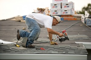 If the roof needs to be done, we always handle the roof work first.  (Image: pointnshoot)