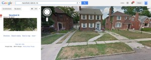 """Google Map's """"Street View"""" allows you to get an idea of a property and it's surrounding neighborhood from your computer."""