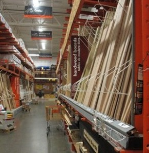 detroit general contractor home depot aisle
