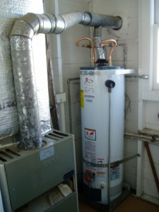 hedging real estate risk hot water tank
